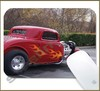 Mouse Pad Rectangular Hot Rod - 007