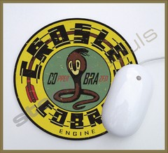 Mouse Pad Circular Old Brands - 07
