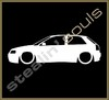 Stickers / Decals - Car Lowered Silhouette - 010