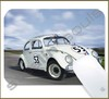 Mouse Pad Rectangular Famous Movies / Series Cars - 010