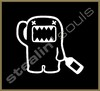 Stickers / Decals - Domo Kun / Pig / Panda - 016