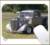 Mouse Pad Rectangular Hot Rod - 013