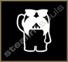 Stickers / Decals - Domo Kun / Pig / Panda - 018