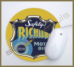 Mouse Pad Circular Old Brands - 19