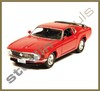 Welly - Ford ´70 Mustang Boss 302 (Roja)