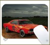 Mouse Pad Rectangular Famous Movies / Series Cars - 037