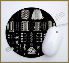 Mouse Pad Circular Engines - 52 - comprar online