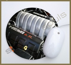 Mouse Pad Circular Engines - 57