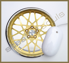 Mouse Pad Circular Wheels Marks - 060 - comprar online