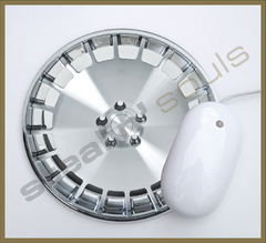Mouse Pad Circular Wheels Marks - 077 - comprar online