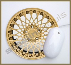 Mouse Pad Circular Wheels Marks - 079 en internet