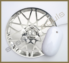 Mouse Pad Circular Wheels Marks - 086 - comprar online