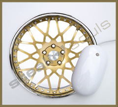 Mouse Pad Circular Wheels Marks - 062 - comprar online