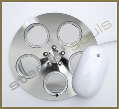 Mouse Pad Circular Wheels Marks - 096 - comprar online