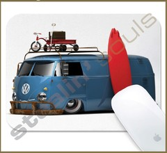 Mouse Pad Rectangular Volkswagen - 089