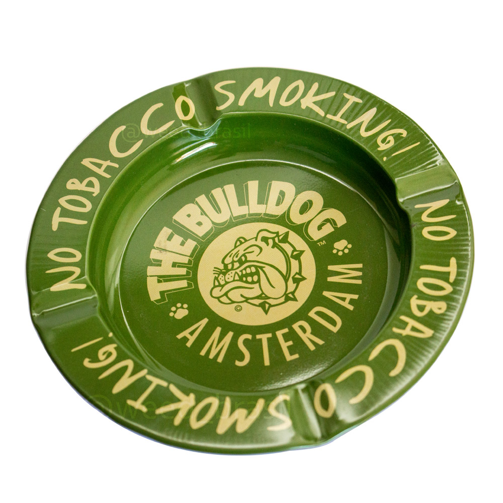 Cinzeiro The Bulldog No Tobacco Smoking