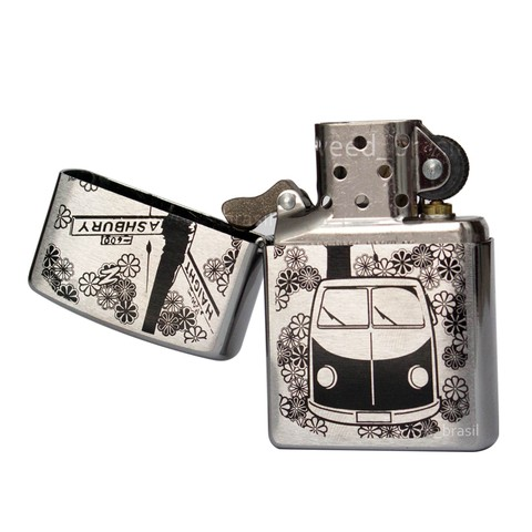 Isqueiro Zippo Flower Power Haight/Ashbury VW Van