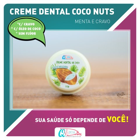 CREME DENTAL COCO NUTS