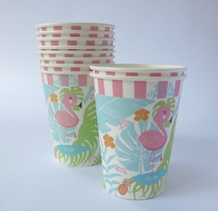Vasos Polipapel Flamingo