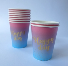 Vasos Polipapel Happy Day