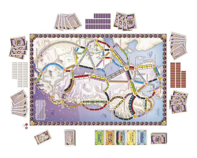 Ticket to Ride: Nordic Countries (2007) - comprar online