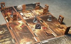 Kit de Portas e Mobilia Mansion of Madness