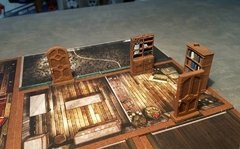 Imagem do Kit de Portas e Mobilia Mansion of Madness