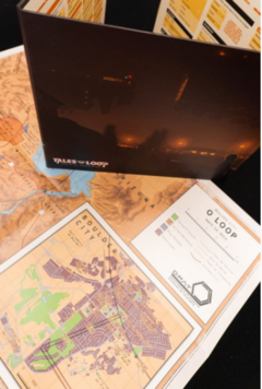 TALES FROM THE LOOP – ESCUDO DO MESTRE E MAPAS - comprar online
