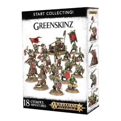 WARHAMMER AGE OF SIGMAR START COLLECTING! GREENSKINZ