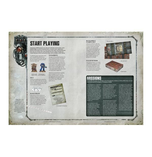 Know No Fear: A Warhammer 40,000 Starter Set - loja online