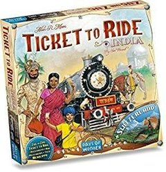 Expansão Jogo Ticket To Ride - India (Importado)