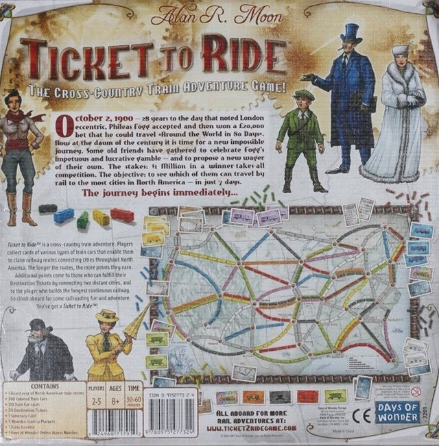Ticket to Ride (importado) na internet