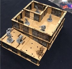 Kit Paredes 3D Zombicide Wulfsburg