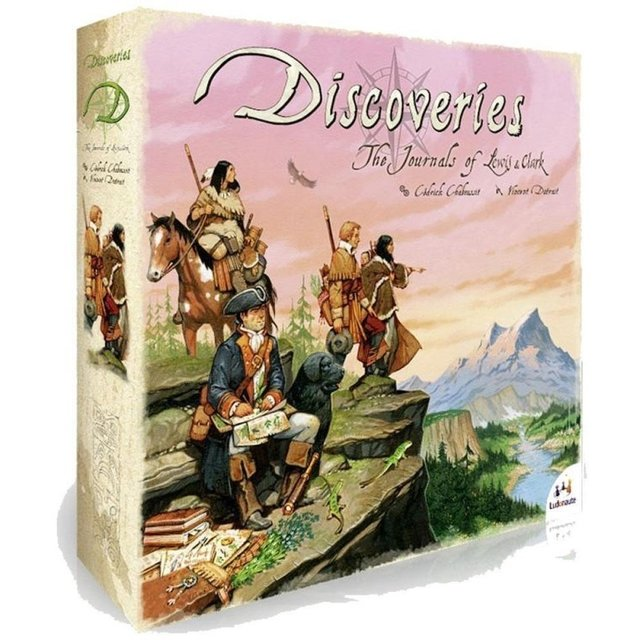 DISCOVERIES: THE JOURNAL OF LEWIS AND CLARK (pré-venda)