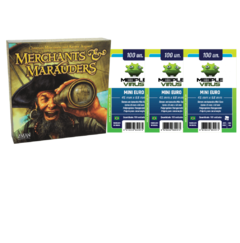 MERCHANTS & MARAUDERS + 3 Sleeves Mini euro - comprar online