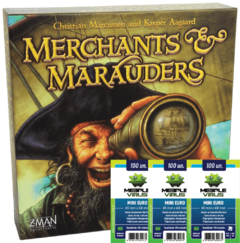 MERCHANTS & MARAUDERS + 3 Sleeves Mini euro