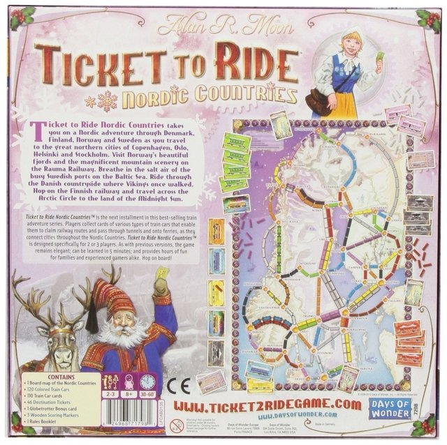 Ticket to Ride: Nordic Countries (2007) na internet