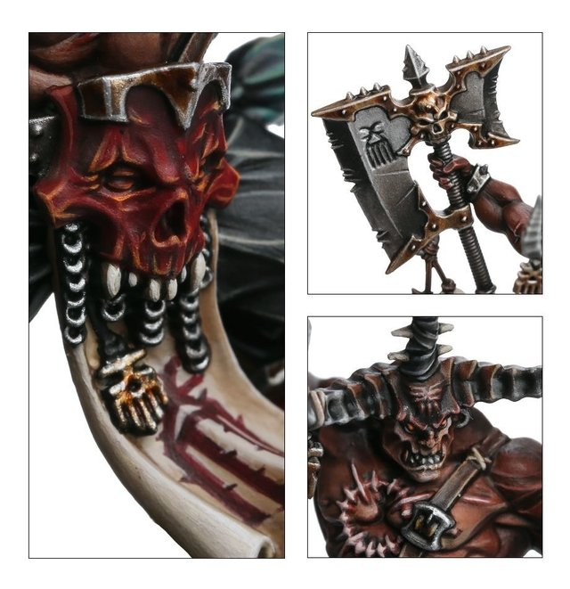 KHORNE BLOODBOUND EXALTED DEATHBRINGER - Pittas Board Games