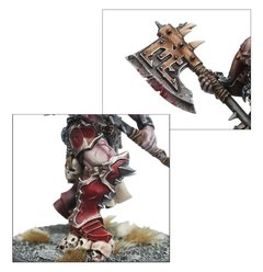 KHORNE BLOODBOUND SLAUGHTERPRIEST - Pittas Board Games