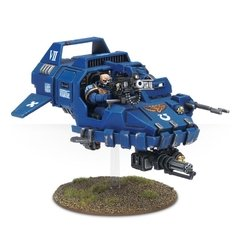 space marine land speeder - 40k na internet