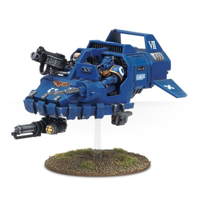 space marine land speeder - 40k - comprar online