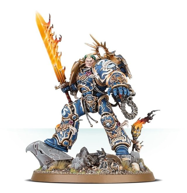Space Marine Roboute Guilliman - 40k - Pittas Board Games