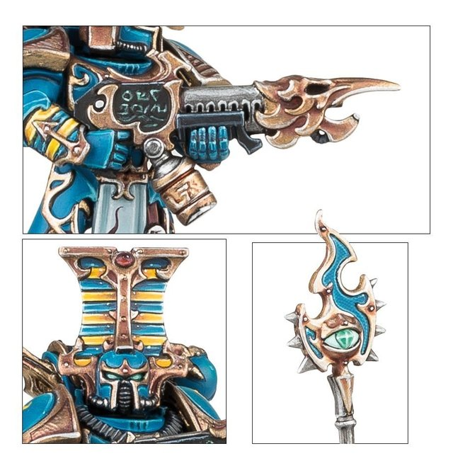 Thousand sons Rubric Marines - 40k na internet