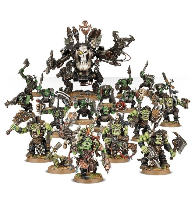 Imagem do Start Collecting! Orks - 40k