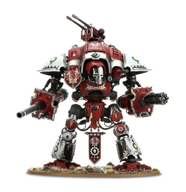 WARHAMMER 40K START COLLECTING! Imperial Knight Warden na internet