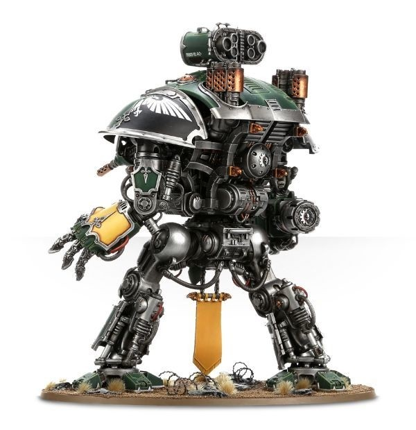 WARHAMMER 40K START COLLECTING! Imperial Knight Warden - comprar online