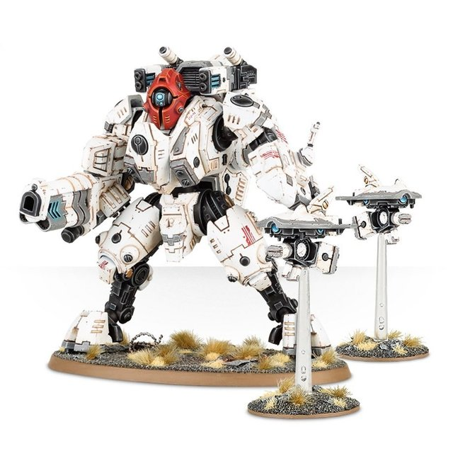 Tau Empire - XV95 Ghostkeel Battlesuit - Warhammer 40K - Pittas Board Games