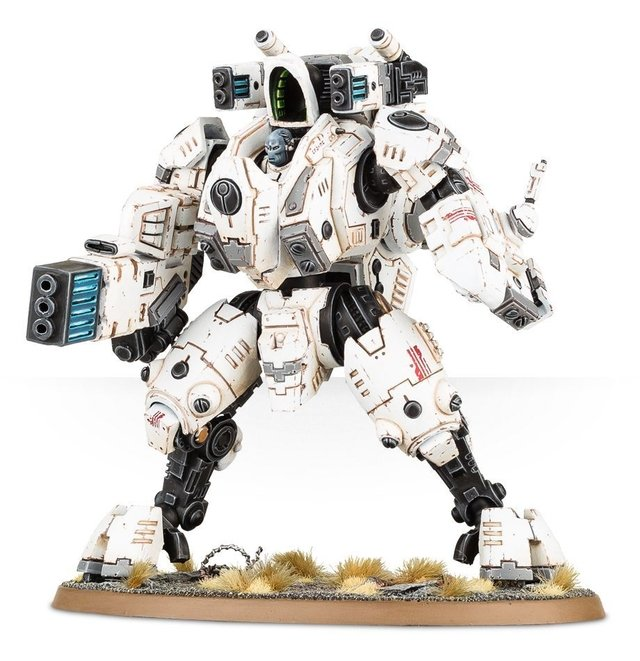 Tau Empire - XV95 Ghostkeel Battlesuit - Warhammer 40K na internet