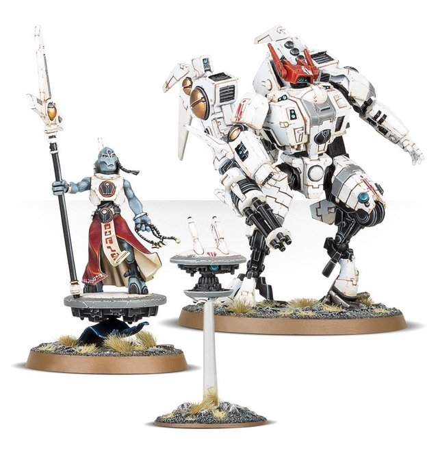 Tau Empire Coalition Command - Warhammer 40k - loja online