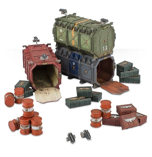 Munitorum Armoured Containers - 40k - comprar online